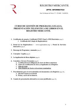 aquí - Registro Mercantil de Valencia y Provincia