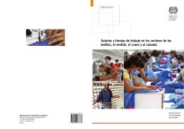 Salarios y tiempo de trabajo en los sectores de los textiles, el