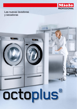 Las nuevas lavadoras y secadoras