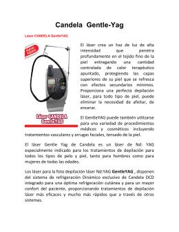 Candela Gentle-Yag - Médicos de El Salvador