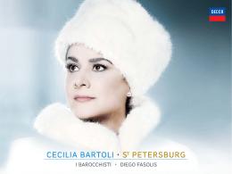 CECILIA BARTOLI ST PETERSBURG