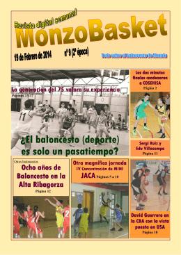 MonzoBasket Número 9.pub - Federación Aragonesa de Baloncesto