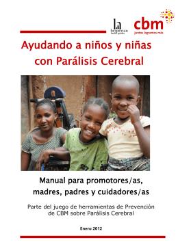 Ayudando a niños y niñas con Parálisis Cerebral