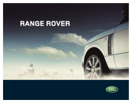 Manual Range Rover 07