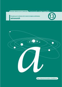 Mujeres y Astronomía - Instituto de la Mujer
