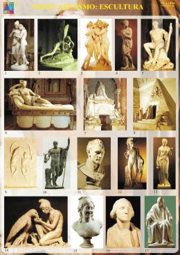 Neoclasicismo Escultura, con identificación