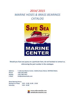 MANGUERAS / Marine Hoses