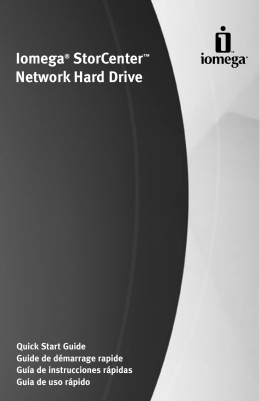 Iomega® StorCenter™ Network Hard Drive