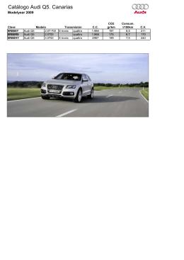 Catálogo Audi Q5. Canarias