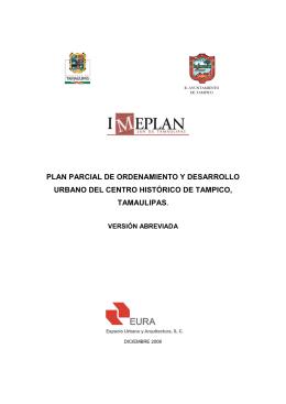 PLAN-PARCIAL - Ayuntamiento de Tampico