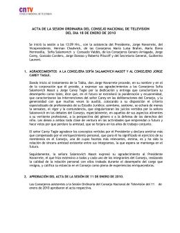 enlace - Consejo Nacional de Televisión, CNTV