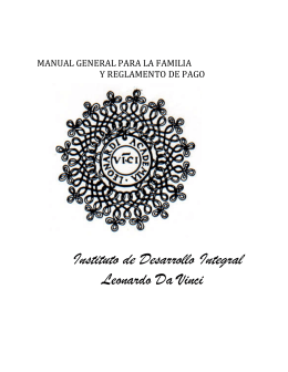 Descarga Aquí el Manual General Para la Familia