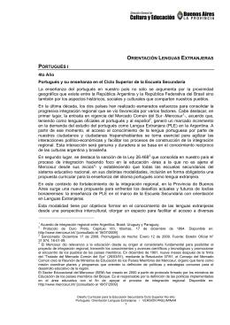Portugués - FMM Educación