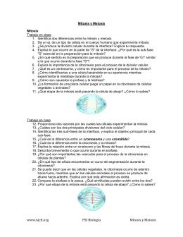 www.njctl.org PSI Biología Mitosis y Meiosis