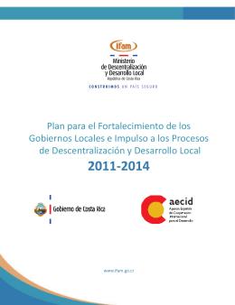 Plan para el Fortalecimiento de los Gobiernos Locales e