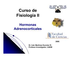 Curso de Fisiología II - Dr. Iván Martínez Duncker