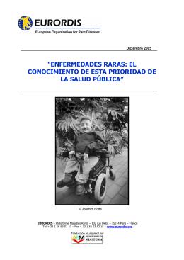 ENFERMEDADES RARAS: EL CONOCIMIENTO DE