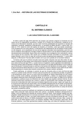 Eric Roll - Historia de las doctrinas económicas, cap. IV