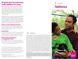 Teléfonos - T