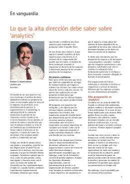 En Vanguardia Outlook 2011