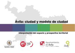 Ávila: ciudad y modelo de ciudad