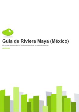 Guía de Riviera Maya (México)