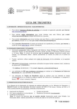 GUIA DE TRÁMITES