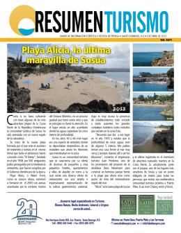 Playa Alicia, la última maravilla de Sosúa