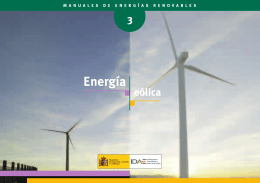 Energía Eólica IDAE