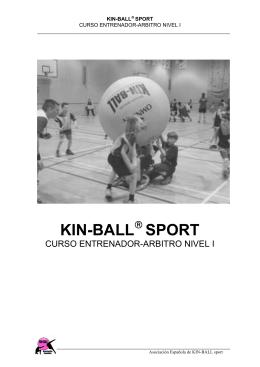 Curso de Kin-ball - Educación Física en Primaria