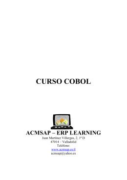 CURSO COBOL