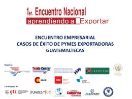 ¡Acérquese al sector PYME exportador!