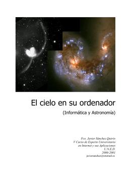 Informática y Astronomía - El cielo en su ordenador