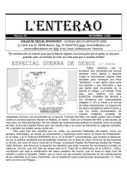 Lenterao Nº 69 - SinDominio.Net