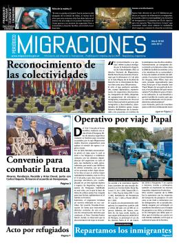 Periódico - Dirección Nacional de Migraciones