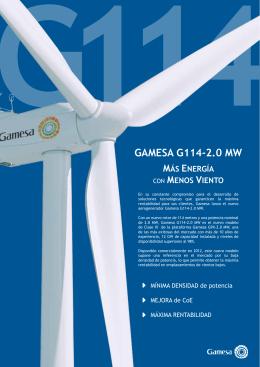 GAMESA G114