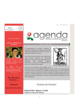 Boletín del Mes - Instituto Mexicano Cultural en Miami