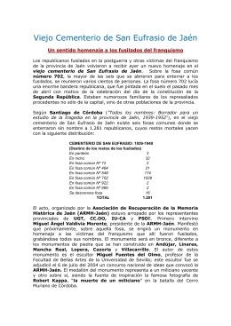 TODOS LOS NOMBRES DE JAEN