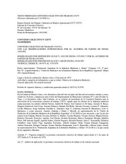 TEXTO ORDENADO CONVENIO COLECTIVO DE