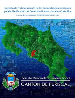 capítulo iii plan de desarrollo humano local del cantón puriscal