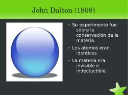 John Dalton (1808)