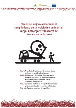 Carga, descarga y transporte de mercancías peligrosas