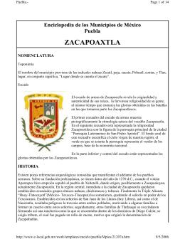 ZACAPOAXTLA - Mexican Textiles