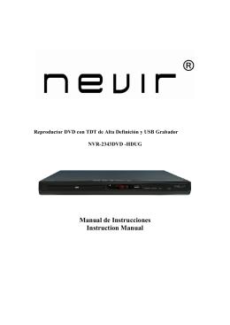 NVR-2343 DVD-HDUG
