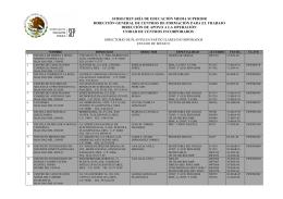 subsecretaría de educación media superior dirección general de