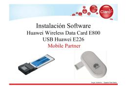 USB Huawei E226.