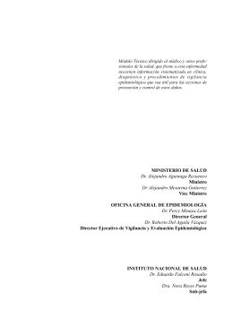 Descargar - Dirección General de Epidemiología
