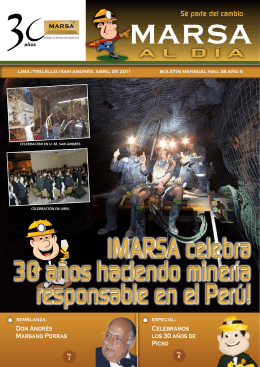 MA ARS - MARSA, Minera Aurífera Retamas SA