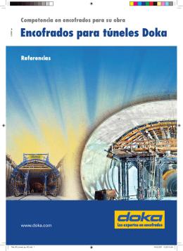 Encofrados para túneles Doka