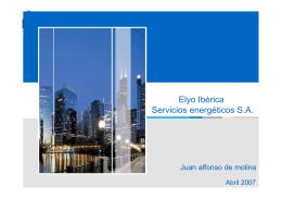 Elyo Ibérica Servicios energéticos S.A.